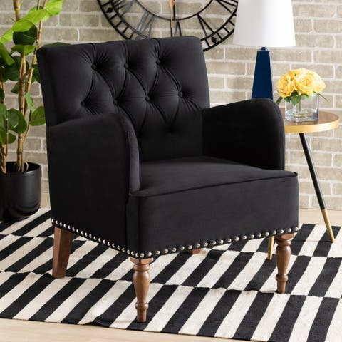 Eri Contemporary Glam and Luxe Armchair