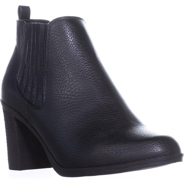 Dr. Scholls Launch Pull-On Booties, Black