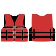Airhead 1000215ARD Universal Open Side Life Vest - Adult Blue