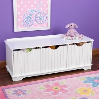 Link to KidKraft Nantucket Storage Bench Similar Items in Kids' Storage & Toy Boxes