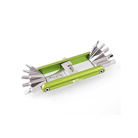 Amzdeal Portable Bike Repair Tool Kit Multi-functional Mountain Bike Maintenance Tools