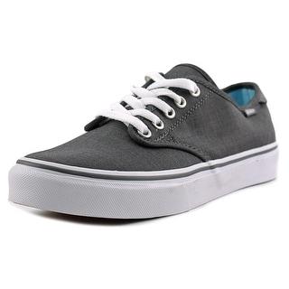 Vans Camden Deluxe Women Round Toe Canvas Gray Sneakers