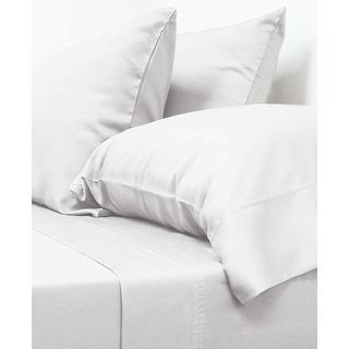 Link to Cariloha Luxury Viscose from Bamboo 4-Piece Classic Bed Sheet Set Similar Items in Bed Sheets & Pillowcases