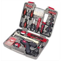 Apollo Tools DT8422 144 Piece Household Tool Kit with 4.8 Volt Cordless Screwdriver