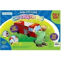 Colorbok Jumbo Color and Play Fire Truck