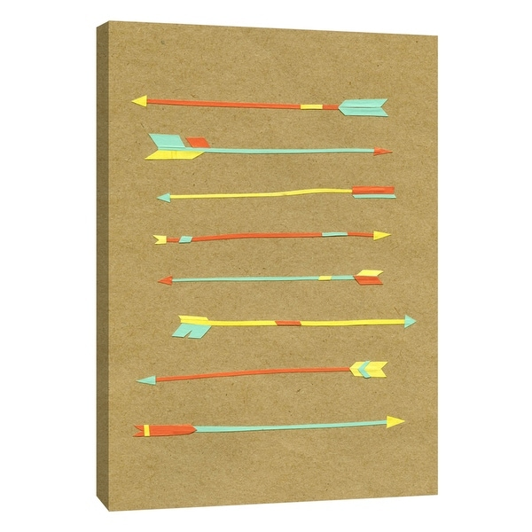 """PTM Images 9-108673 PTM Canvas Collection 10"""" x 8"""" - """"Arrows & Arrows"""" Giclee Sports and Hobbies Art Print on Canvas"""