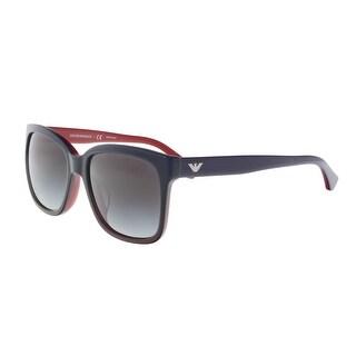 Emporio Armani EA402F 53478G Navy Square Sunglasses - 56-18-140