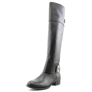 Vince Camuto Beatrix Wide Calf Pointed Toe Leather Knee High Boot