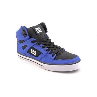 DC Shoes Spartan HI WC TX Men Round Toe Canvas Skate Shoe