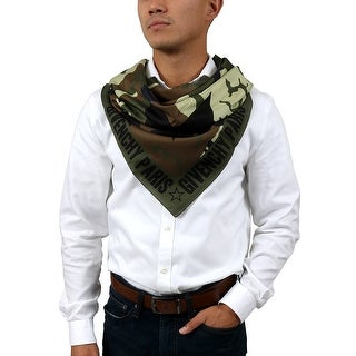 Givenchy 1212GV SD251 1 Army Green Scarf - 47.30-47.30
