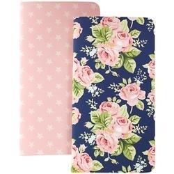 Floral & Stars W/80 Pink Sheets - Color Crush Traveler's Planner Notebooks 2/Pkg
