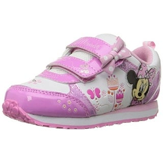 Disney Girls Minnie Mouse Light Up Casual Shoes