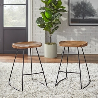 Link to Lifestorey Chapman Scooped Seat Stool Similar Items in Dining Room & Bar Furniture