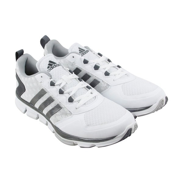 Adidas Speed Trainer 2 Mens White Mesh Athletic Lace Up Training Shoes