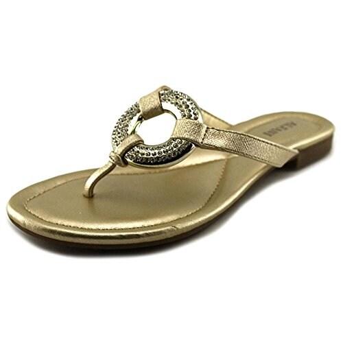Alfani Womens Hannia Open Toe Casual Slide Sandals