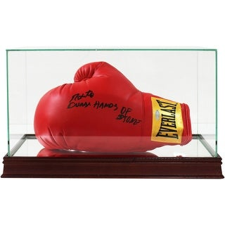 Glass Single Boxing Glove and CleatShoe Display Case