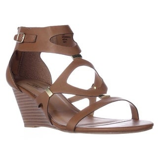 XOXO Sees Casual Wedge Sandals - Tan