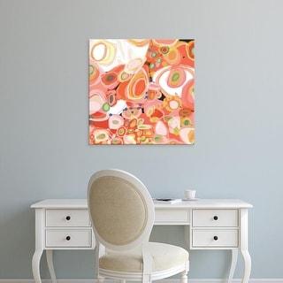 Easy Art Prints Jan Weiss's 'Watermelon Cocktail' Premium Canvas Art
