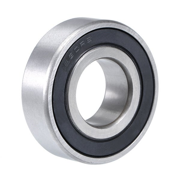 """1630-2RS Deep Groove Ball Bearing 3/4""""x1-5/8""""x1/2"""" Double Sealed Chrome Bearings - 1 Pack - 1630-2RS (3/4""""x1-5/8""""x1/2"""")"""