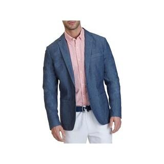 Nautica Mens Blazer Chambray Long Sleeves (3 options available)