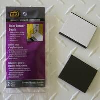 M-D 51501 Door Corner Vinyl-Covered Foam Weatherstrip Tape