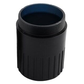 KTV Wireless Microphone Battery Screw On Cover Black Orange 30mm Diameter