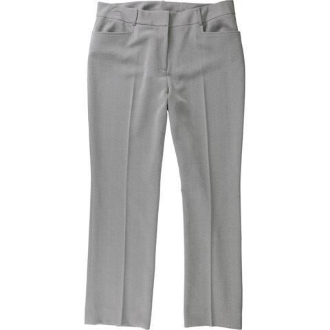 Tahari Womens Wear to Work Dress Pants, Grey, 12P