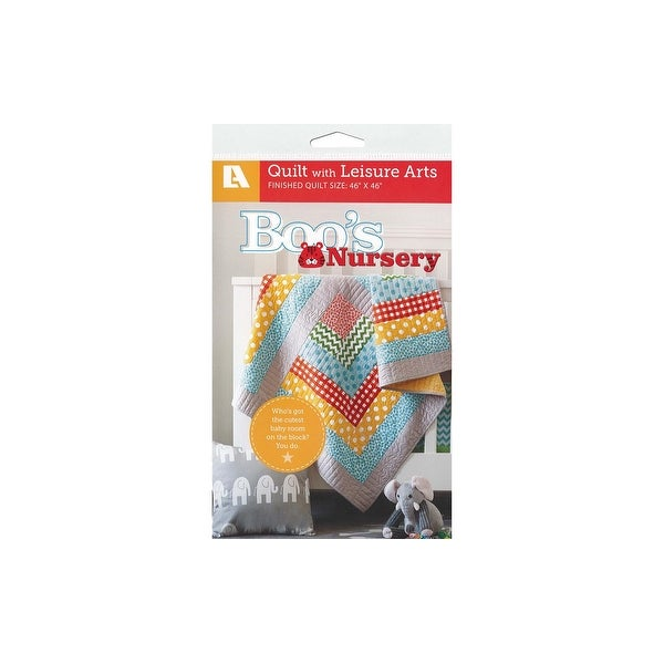 Leisure Arts Boo's Nursery Quilt Ptrn - White. Opens flyout.