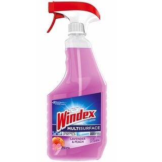 Windex 70342 Multi-Surface Cleaner, Lavender & Peach Blossom, 23 Oz