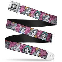 Princess Rose Full Color Grays White Black Princess Sketch Poses Floral Seatbelt Belt
