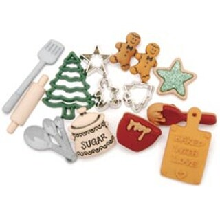 Christmas Cookies - Dress It Up Holiday Embellishments