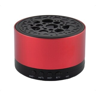 Portable Water Resistant Dustproof Wireless bluetooth Speaker Stero Red