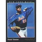 Frank Tanana New York Mets 1993 Score Autographed Card This item comes with a certificate of authenticity from Autogr