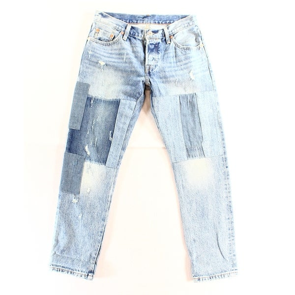 b6dd02dd Shop Levi's NEW Blue Women's Size 27X32 Customized Tapered 501 CT ...