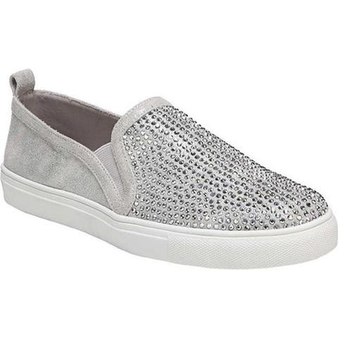 Carlos by Carlos Santana Women's Sutton Slip-On Sneaker Silver Fabric