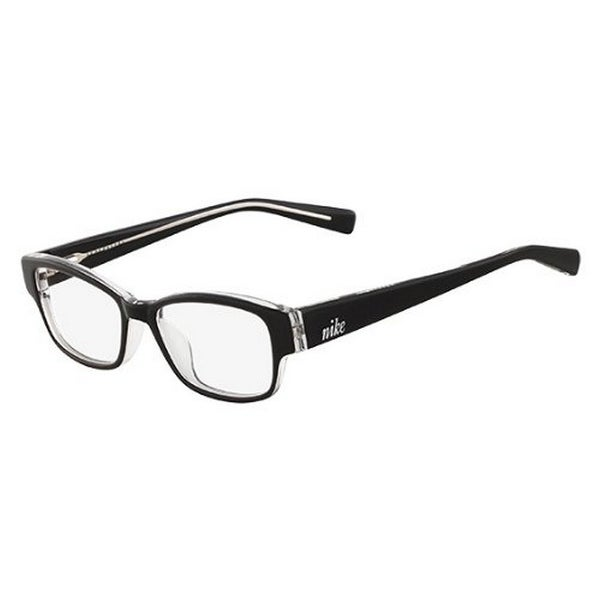14f8354e28d13 Shop Nike Eyeglasses 5527-001 Black Crystal with Demo Lens - Black Crystal  - Free Shipping Today - Overstock - 16328686