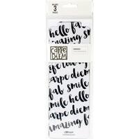 Planner Essentials Plastic Bookmarks-