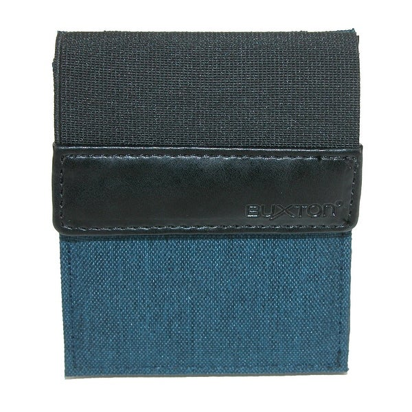 Buxton Men's RFID Protected Flex Bifold Stretch Wallet - One size