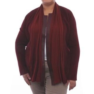 Lafayette 148 New York Alessa Long Sleeve V-Neck Cardigan Women Sweater