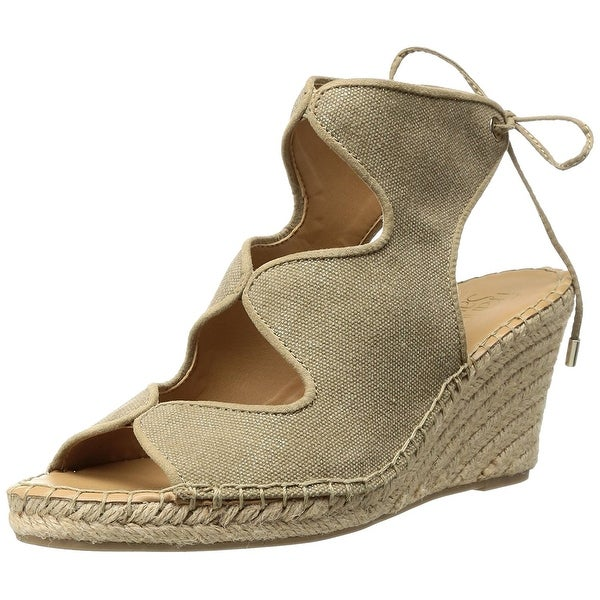 Franco Sarto Women's L-Nash Espadrille Wedge Sandal