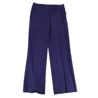 CLASSIQUES ENRIER Blue Women's Size 10X34 Dress Stretch Pants