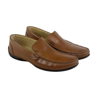 Giorgio Brutini Prentice Mens Brown Leather Casual Dress Loafers Shoes