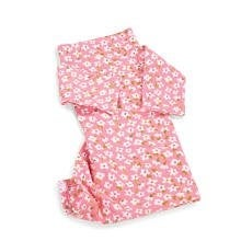 Comfortme Baby Girls' Travel Blanket, Pink Flower