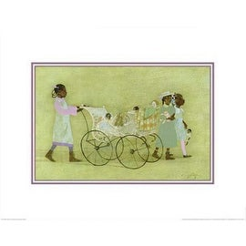 ''Little Promenade'' by Danny Phifer African American Art Print (16 x 20 in.)