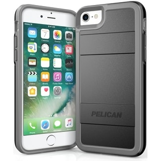 Pelican Protector Case iPhone 7/6s/6 Black/ Light Gray