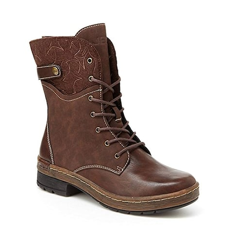 JBU Womens Hemlock Cap Toe Mid-Calf Fashion Boots