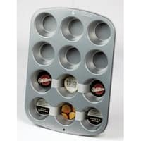 Wilton 2105-954 Recipe Right Regular Muffin Pan, 12 Cup
