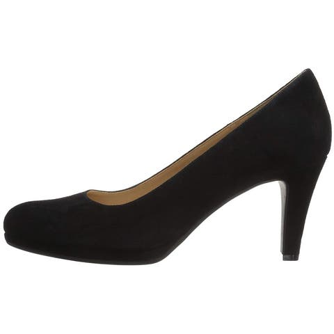 Naturalizer Womens Michelle Leather Round Toe Classic Pumps