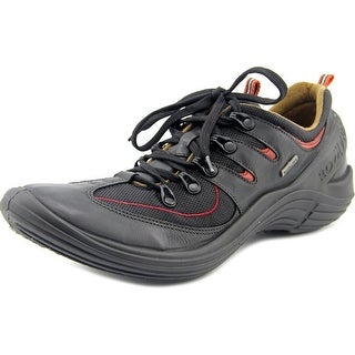 Romika Romotion 102 Women Round Toe Leather Black Hiking Shoe