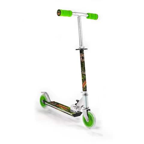 Ozbozz Dinosaur Foldable Scooter w/ Light Up Wheels